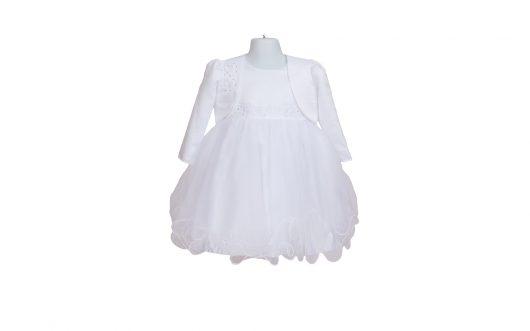 Baby Christening White Tulle Dress 127