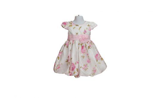 Children Formal Pink Floral Dress 153