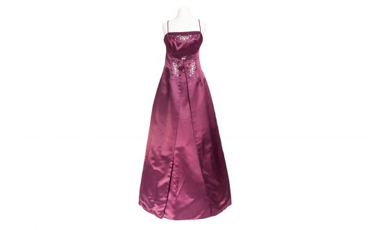Evening Dress Elegant Plum 973