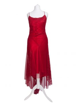 Evening Dress Red 965