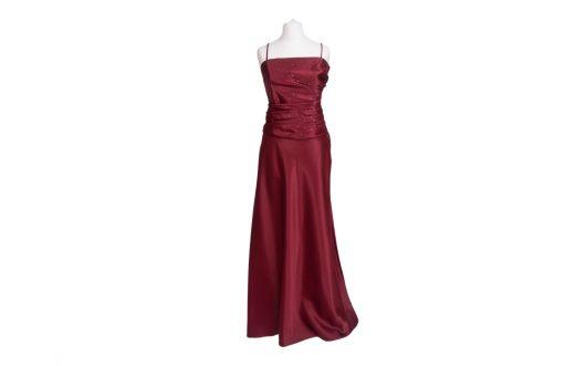 Evening Dress Burgundy 968