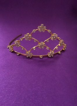 Gold Diamonta Tiara